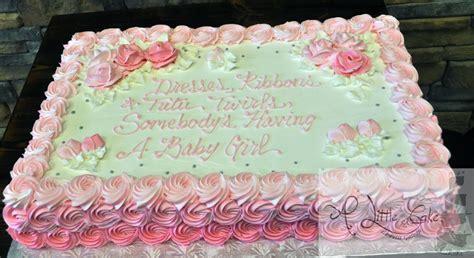 sheet cake designs for wedding shower bridal shower cakes a cake