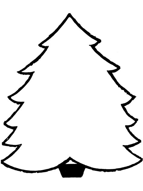 christmas tree colouring pages coloring part 3