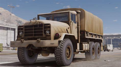 Trucker M m939 5 ton truck add on gta5 mods