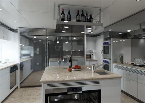 rendering cucina render cucina yacht realizzato da andrea castagna