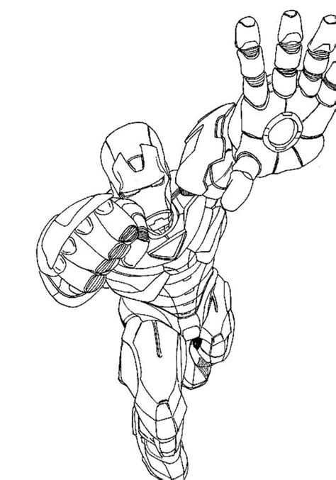 you avengers coloring pages