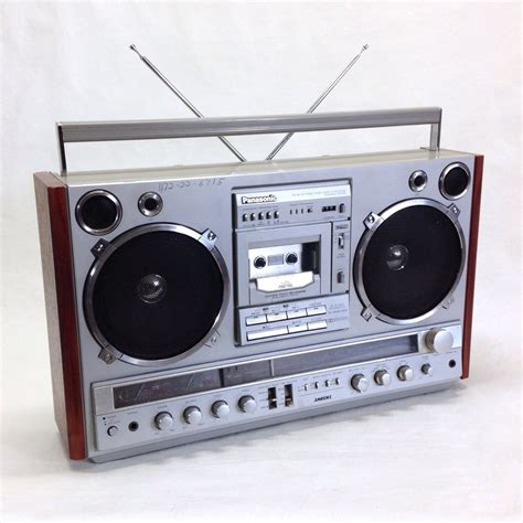 radio cassette vintage panasonic rx 7000 ambience fm am radio cassette