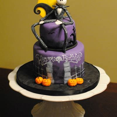 the nightmare before birthday birthday cakes images scary nightmare before