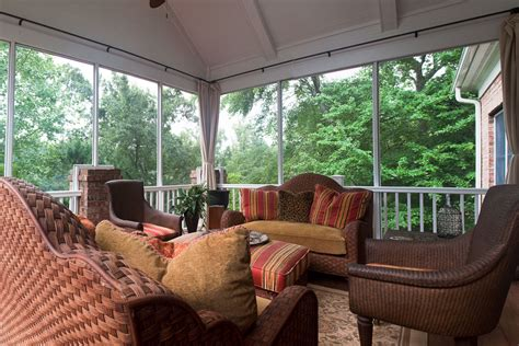Second Story Interiors by Second Story Screened Porch And Deck Solid Construction