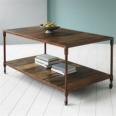 upcycled coffee table reiner upcycled pipe coffee table by tree furniture