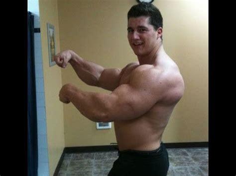 Big 18 Years 18 years bodybuilder 255 lbs of