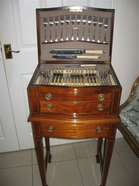 cutlery cabinet cutlery cabinet on stand 282988 sellingantiques co uk