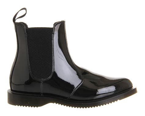 chealsea boots dr martens kensington faun chelsea boot in black lyst
