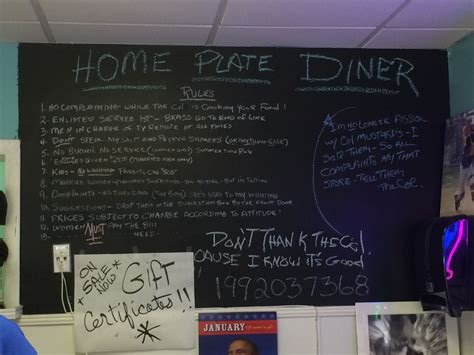 home plate diner a place with solid breakfast and