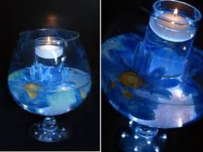Blue Centerpieces Blue Wedding Centerpiece Candle Ideas Ipunya