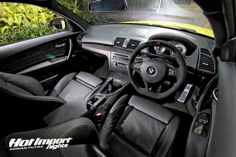 Bmw 1m Interior by Matte Yellow Bmw 1m Coupe Makes Valencia Orange Look Autoevolution