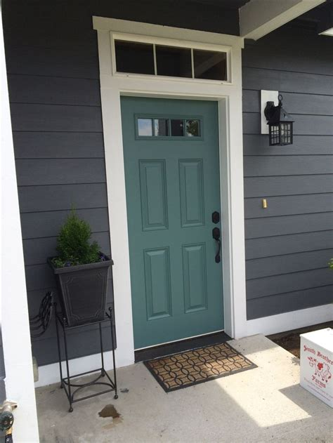 door accent colors for greenish gray 25 best ideas about teal front doors on pinterest d