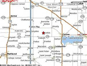 Celina Ohio Map by Directions