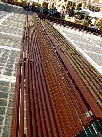 benito arredo urbano panchina barcino um305 panchine arredo urbano benito