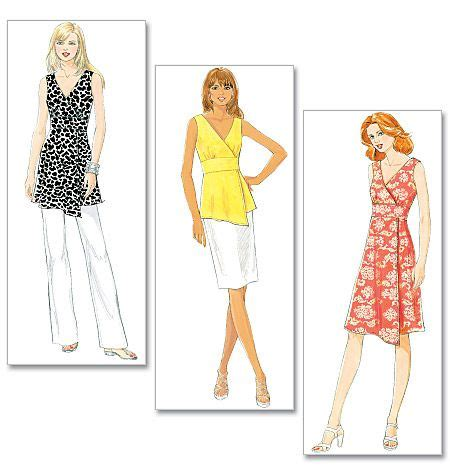 pattern review butterick 5917 pattern reviews gt butterick gt 5485 misses top tunic and
