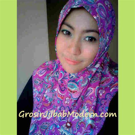 Longdres Maroko By Batik Fa jilbab syria batik modern ungu grosir jilbab modern