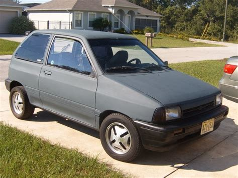 automobile air conditioning service 1989 ford festiva interior lighting little seven 1990 ford festival hatchback 2d specs photos modification info at cardomain