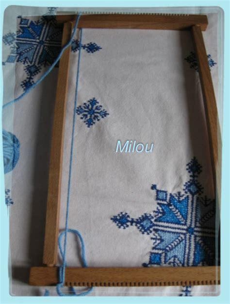 Peinture Pour Tissu 2665 by Tuto Tissage Sur Un Cadre Milou