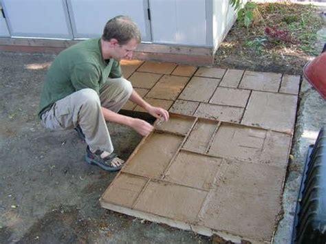Beautiful Concrete Mold Patio 9 Diy Concrete Patio Molds Patio Molds