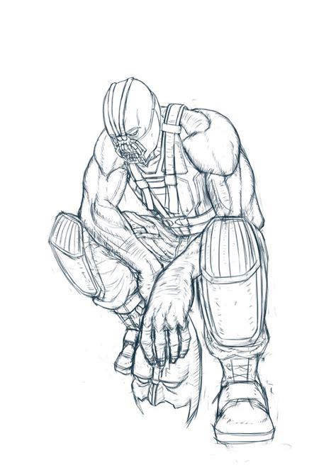 sketchbook vs sketchbook x batman bane sketch by dockdark on deviantart