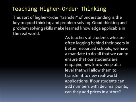 A New World Order Saint 171 The Thinking Housewife | teaching higher order thinking 21st century skills