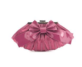 Big Bow Clutch Bags At Barratts barratts womens bags