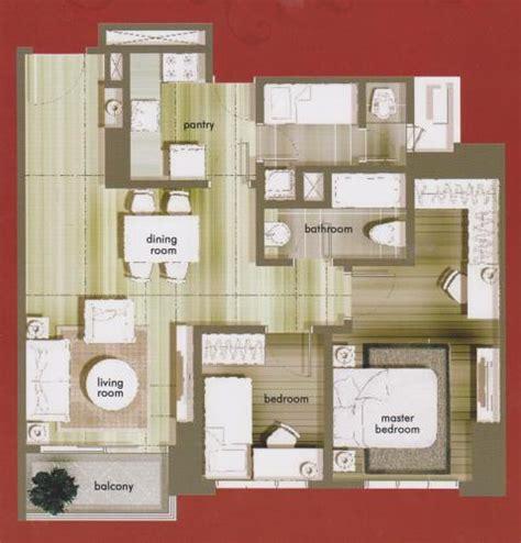 layout apartemen central park jakarta jual apartemen central park residences 2 1 bedroom