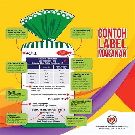 contoh desain label makanan contoh x banner makanan contoh m