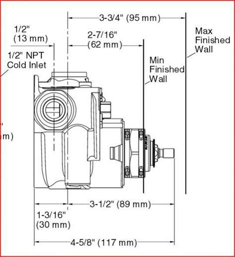 Moen Faucet Diverter Kohler K 2972 Shower Valve Install Doityourself Com