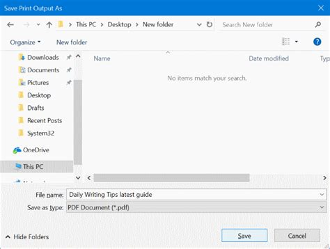 save email how to save emails as pdfs in windows 10