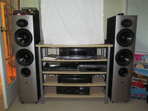 home speakers athena tower center and bookshelf