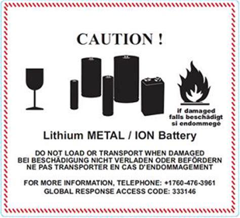 Aufkleber Gefahrgut Lithium Batterien Kostenlos de hilfe r 252 ckgabe von gefahrgut