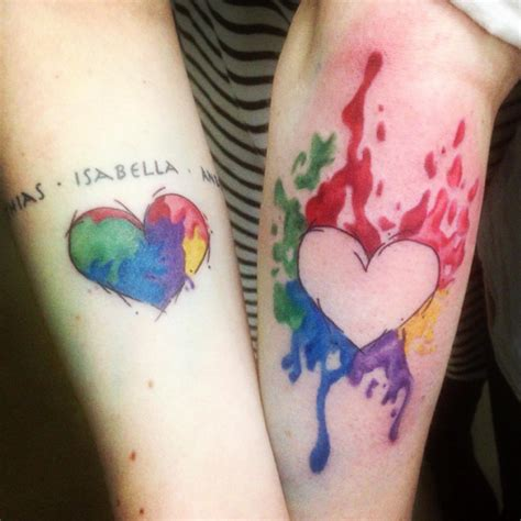 sisters around the world are getting complementary tattoos
