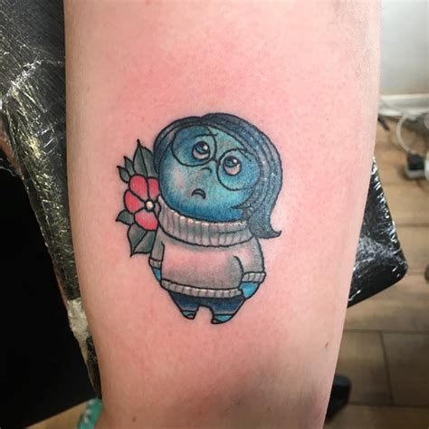 inside out tattoo 13 pixar inspired ideas bored panda