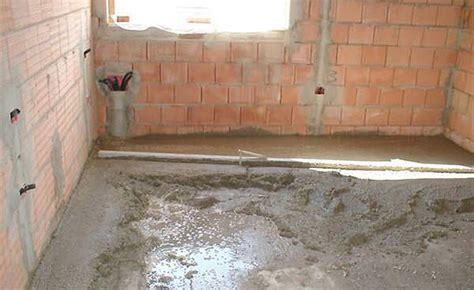 come isolare il pavimento foto costruzione riscaldamento a pavimento