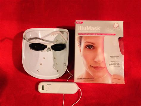 led anti aging light therapy reviews illumask anti aging led light mask illumask led skin