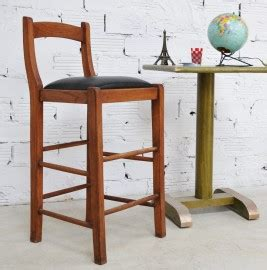High Chair For Bar Counter Vintage High Chair In Oak Bar Counter 80 S Furniture