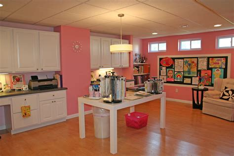 pink craft room pretty in pink deana boston craft storage ideas