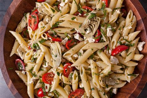 cold salad recipes 11651 pasta salad artichokes jpg