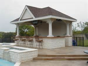 pool cabana plans that are perfect for relaxing and outdoor kitchen floor plans trend home design and decor