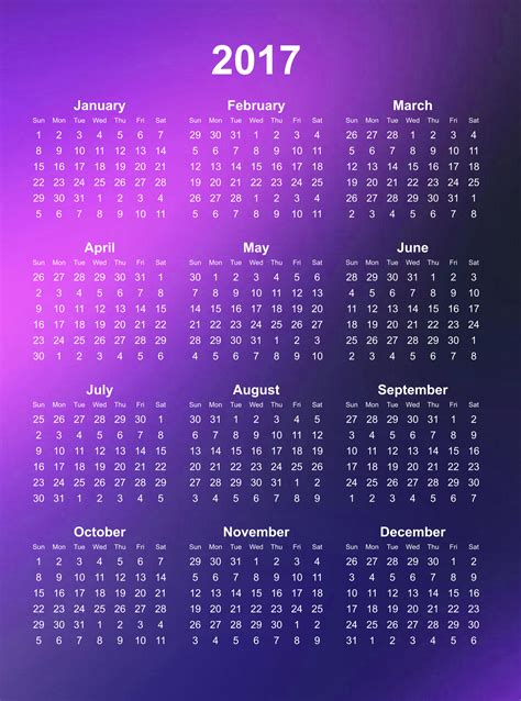 Calendar Year Definition Happy New Year 2017 Calendar Weneedfun