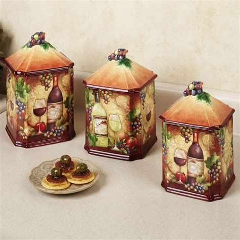 wine kitchen canisters tropical kitchen table sets home wine map canister set