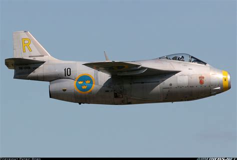 photos saab j29f tunnan aircraft pictures airliners net