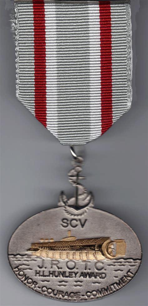 L Award by H L Hunley Jrotc Award