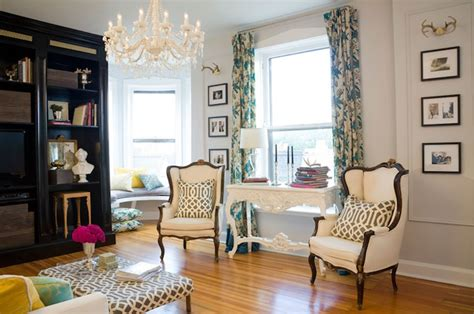 french wingback chairs eclectic living room summer