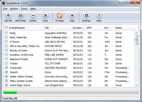 mp3 bpm converter download tunexplorer bpm and key detection software