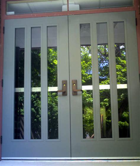 Doors: interesting metal entry door Commercial Steel Doors