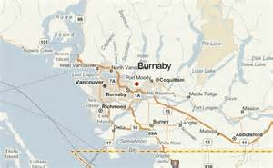 burnaby canada map burnaby location guide