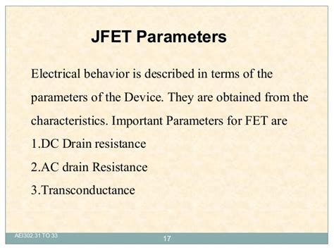 fet transistor parameters fet transistor parameters 28 images spice modeling of a jfet from datasheet page 2 of 5