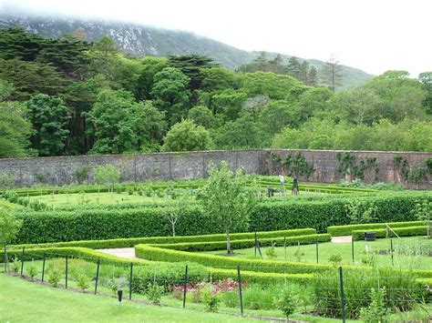 The Victorian Walled Garden At Kylemore Abbey Ireland Walled Gardens Ireland